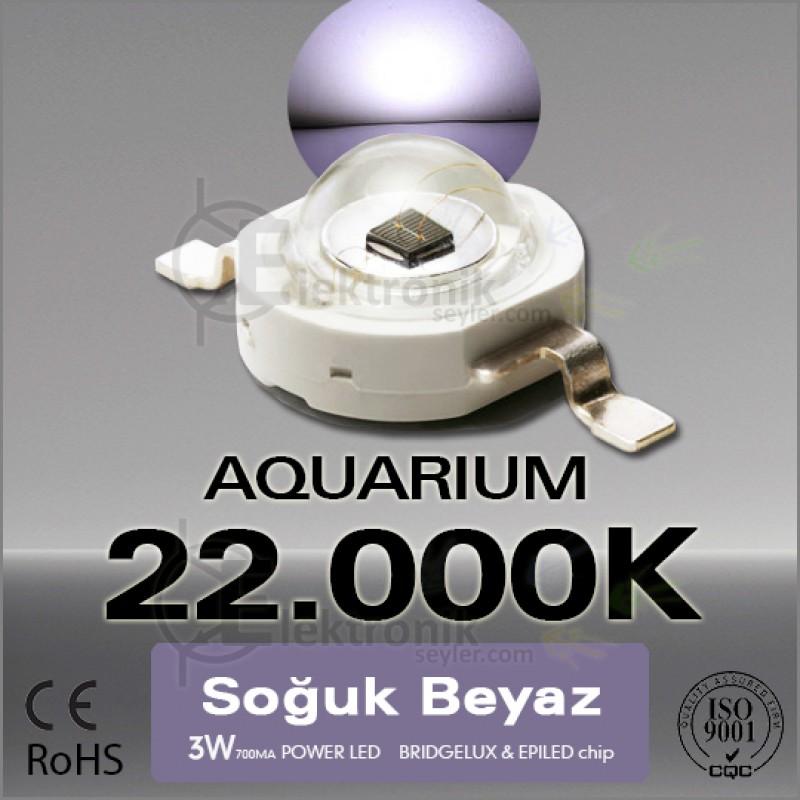 LED-3W-Beyaz-White-22000K-Bridgelux