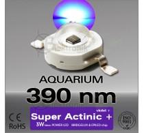 LED-3W-Super-Actinic-390nm-Bridgelux