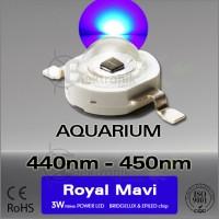 LED-3W-Royal-Mavi-445nm-455nm-Bridgelux