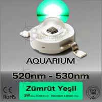 LED-3W-Yesil-510nm-530nm-Bridgelux